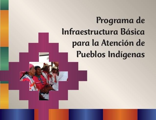 Programa de Infraestructura Básica para la Atención de Pueblos Indígenas