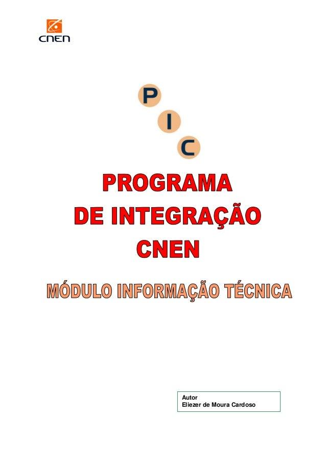 Autor  Eliezer de Moura Cardoso