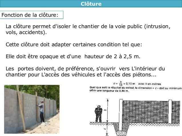 Cours Plan Installation De Chantier T L Charger Http