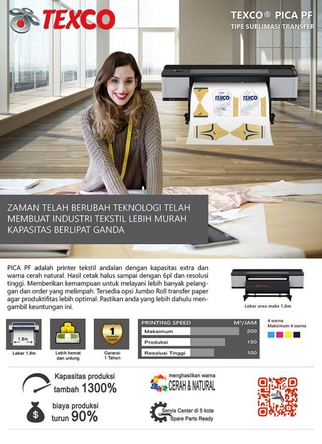 Mesin Printing Kain Pica PF