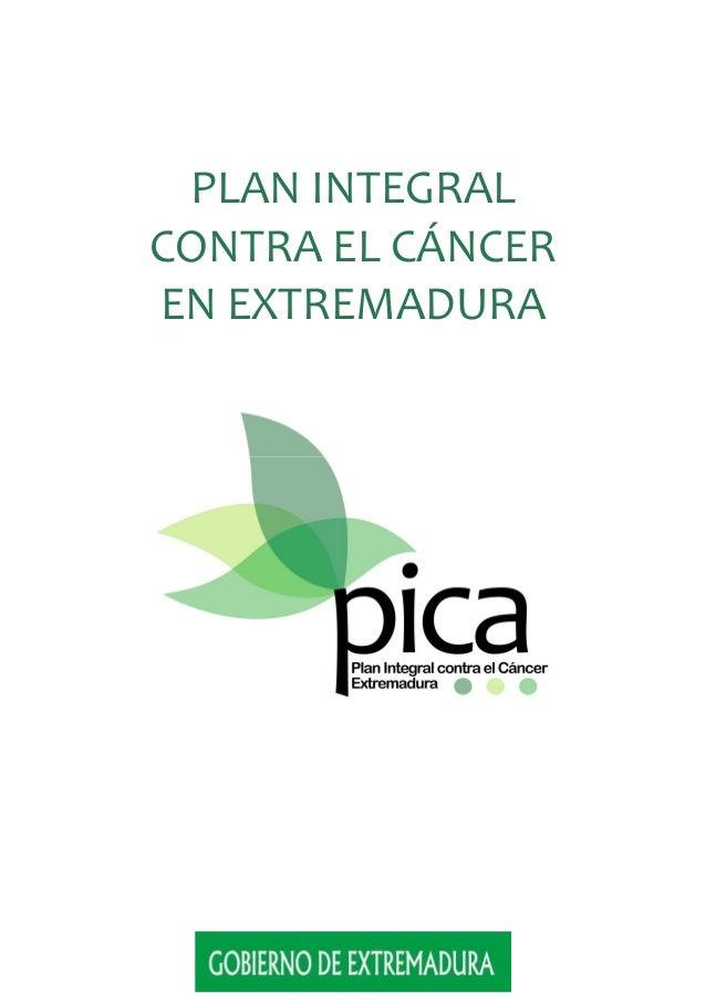 PLAN INTEGRAL CONTRA EL CÁNCER EN EXTREMADURA