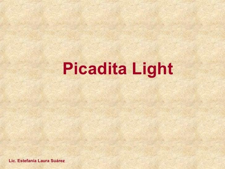 Picadita Light Lic. Estefanía Laura Suárez