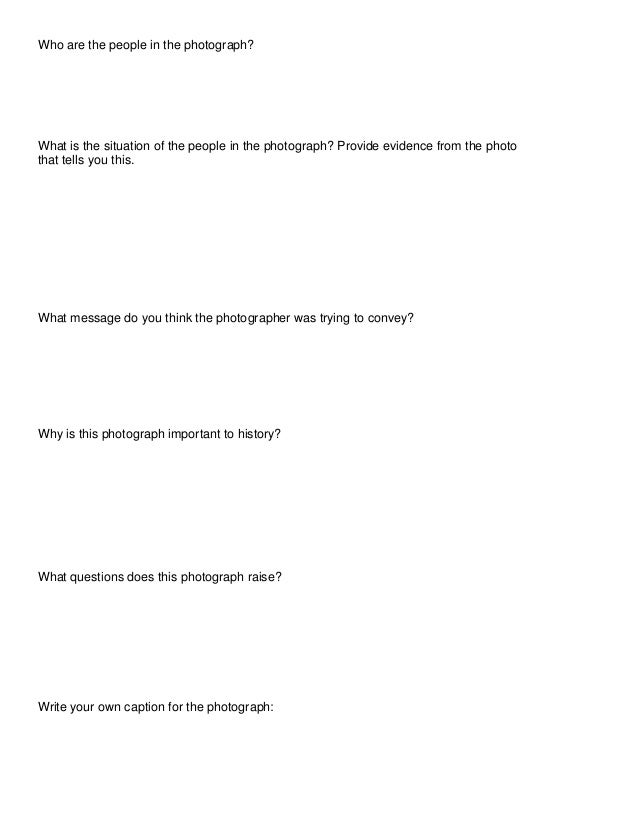 Who are the people in the photograph?  What is the situation of the people in the photograph? Provide evidence from the ph...