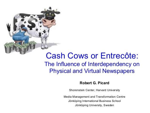 Robert G. Picard Shorenstein Center, Harvard University Media Management and Transformation Centre Jönköping International...