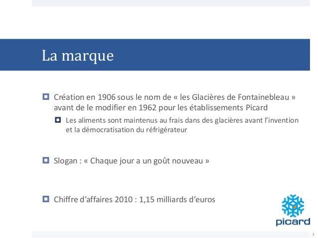 La marque  Création en 1906 sous le nom de « les Glacières de Fontainebleau » avant de le modifier en 1962 pour les établ...