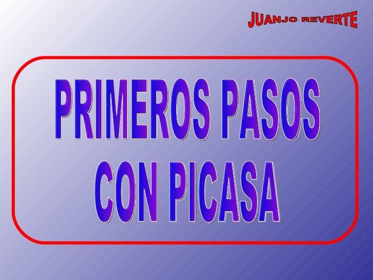 PRIMEROS PASOS CON PICASA