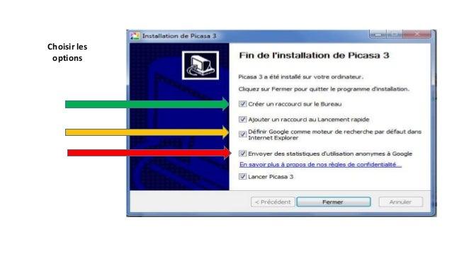 Une fois l'analyse de votre ordinateur effectuée pas Picasa vous retrouverez vos photos classées dans la photothèque par o...
