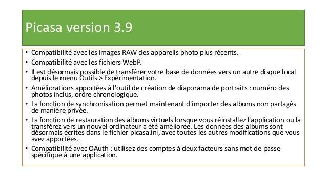 Télécharger et installer Picasa3