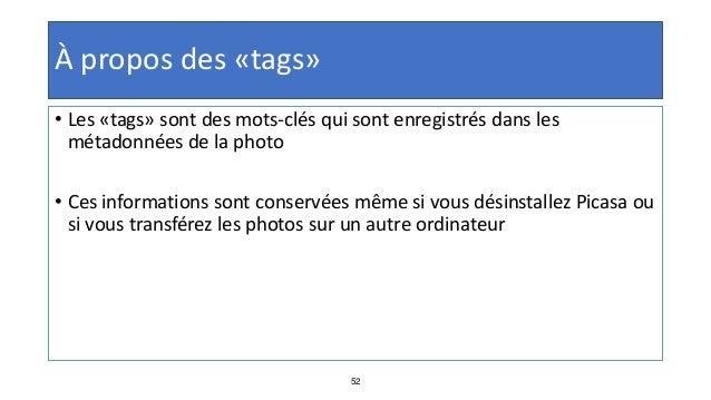 65 Retouche photo : Texte • Double-cliquez sur la photo à laquelle vous voulez ajouter du texte • Cliquez sur le bouton « ...