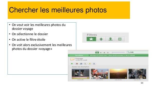 67 Retouche photo : Recadrage • Double-cliquez sur la photo à corriger • Cliquez sur le bouton « Recadrer » • Glissez le c...
