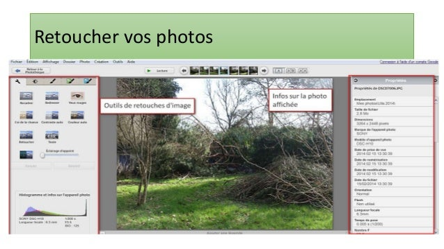 69 Retouche photo : recadrage • Cliquez sur le bouton « Appliquer » pour appliquer le changement • Ce nouveau cadre n'exis...