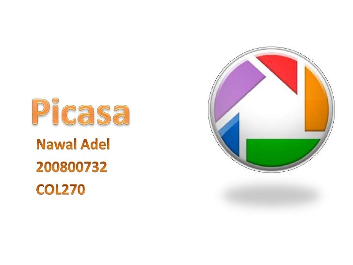 The Definition• Picasa is a free easy program from Google that  can be used to organize and manage all  editing digital ph...