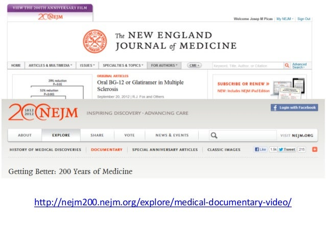 20 0TH ANNIVERSARY ARTICLE              The Burden of Disease and the Changing Task of MedicineDavid S. Jones, M.D., Ph.D....