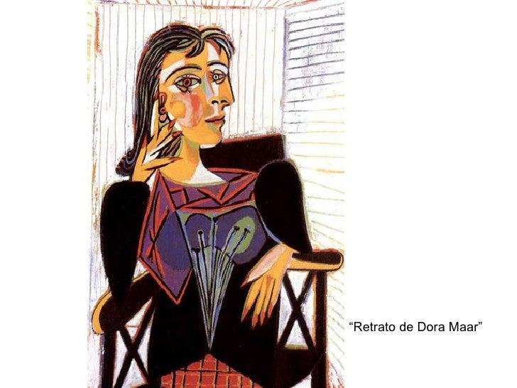 """ Retrato de Dora Maar"""