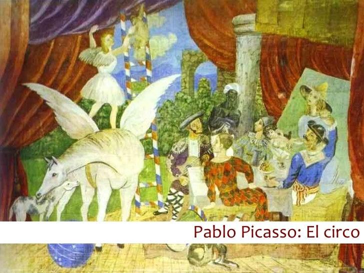 Pablo Picasso: El circo