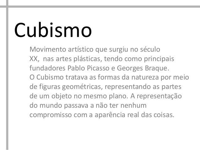 Picasso Cubismo