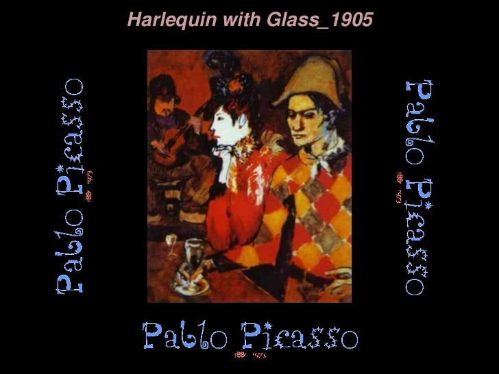 Harlequin with Glass_1905<br />