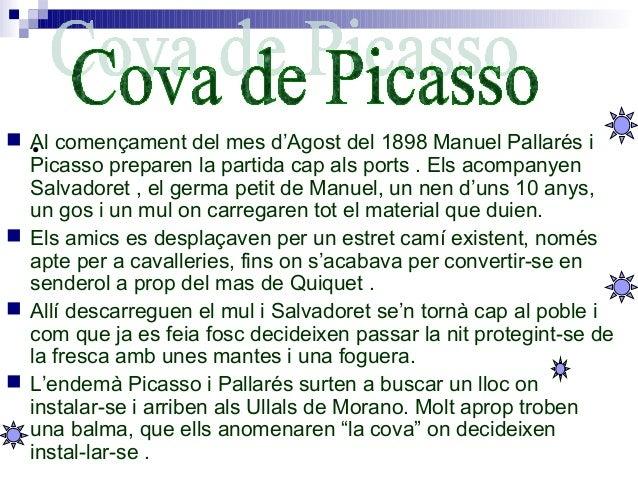 • Al començament del mes d'Agost del 1898 Manuel Pallarés i Picasso preparen la partida cap als ports . Els acompanyen Sa...