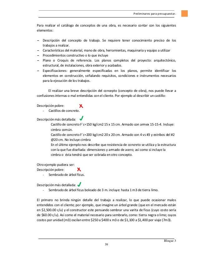 Picasso j presupuestos de obra ias e cc by nc sa 2 5 mx - Como hacer presupuesto de obra ...