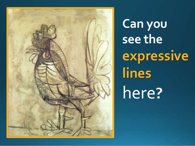 Picasso's roosters and cubism Slide 3