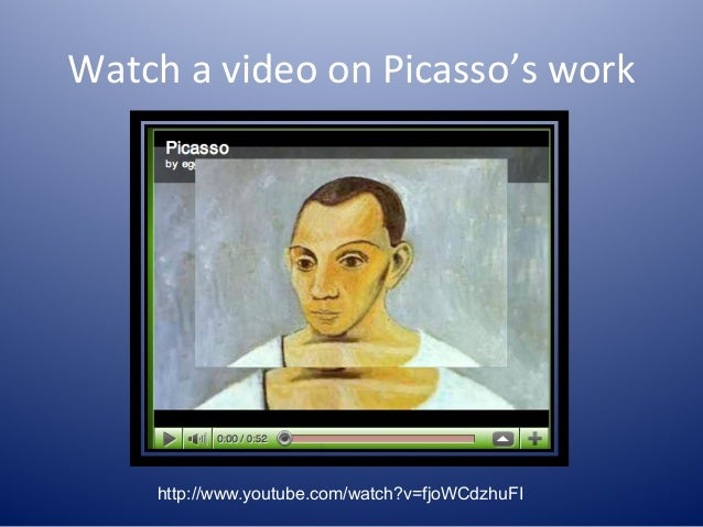 An introduction and an analysis of the way picasso changed the way we look at art