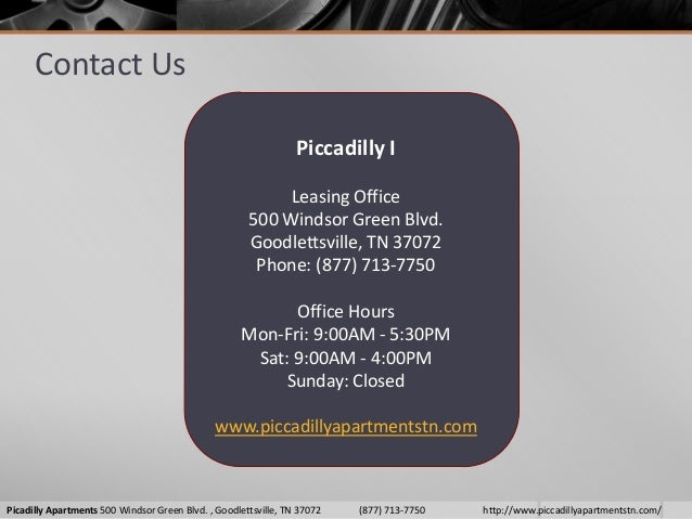 6. & Piccadilly Apartments Goodlettsville TN