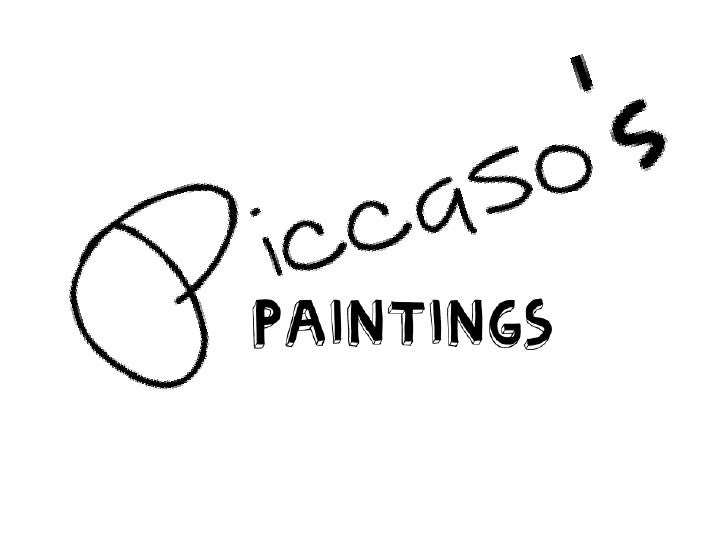 Piccaso paintings