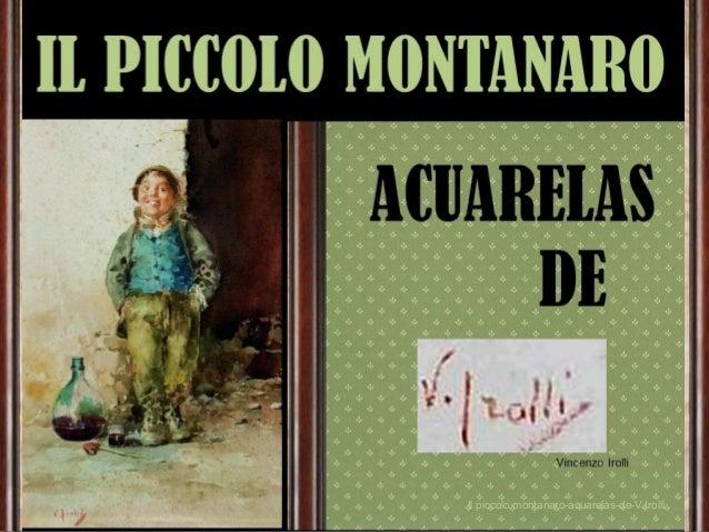 Il piccolo montanaro-acuarelas-de-V.Irolli