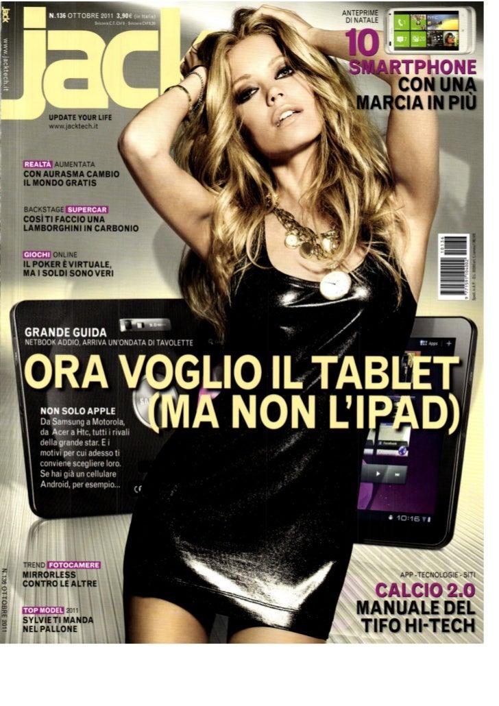 Pick1 in Jack magazine - October 2011