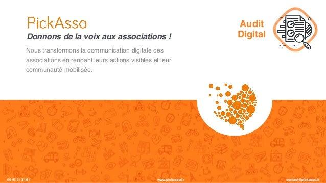 Nous transformons la communication digitale des associations en rendant leurs actions visibles et leur communauté mobilisé...