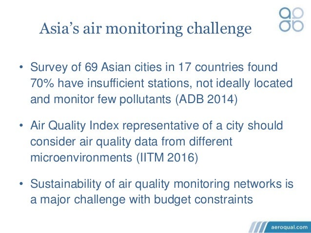 Air Pollution Monitoring in India using Aeroqual Compact ...