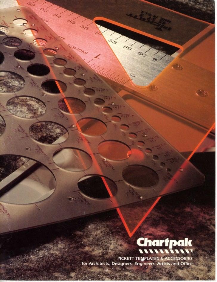 Pickett Template Catalog by Chartpak