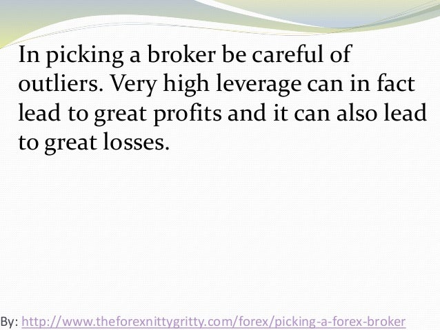 Forex leads broker