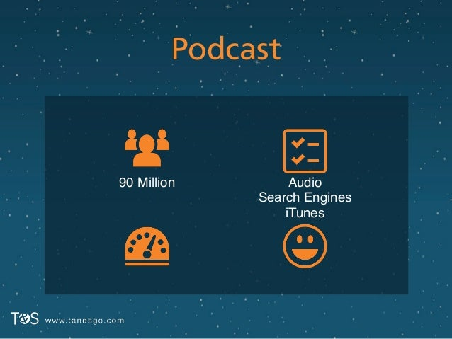 Podcast Audio! Search Engines! iTunes 90 Million