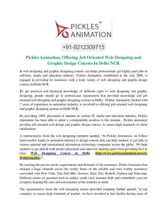 Graphic Design And Animation Courses In Delhi