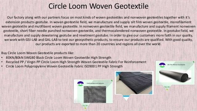 Pick Woven Monofilament Geotextile