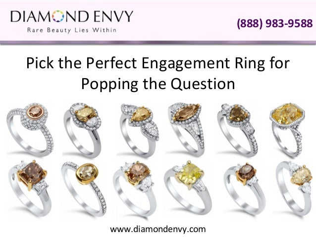 Pick The Perfect Engagement Ring For Popping The Question
