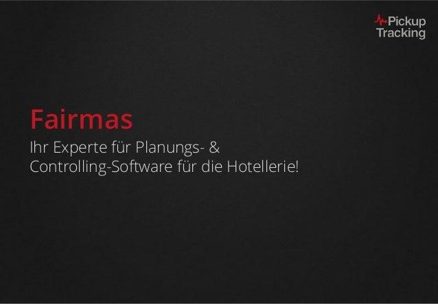 Fairmas Ihr Experte für Planungs- & Controlling-Software für die Hotellerie!
