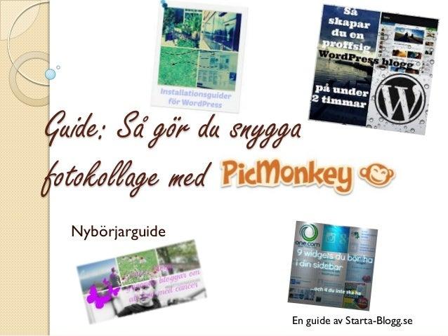 Guide: Så gör du snygga fotokollage med  Nybörjarguide  En guide av Starta-Blogg.se