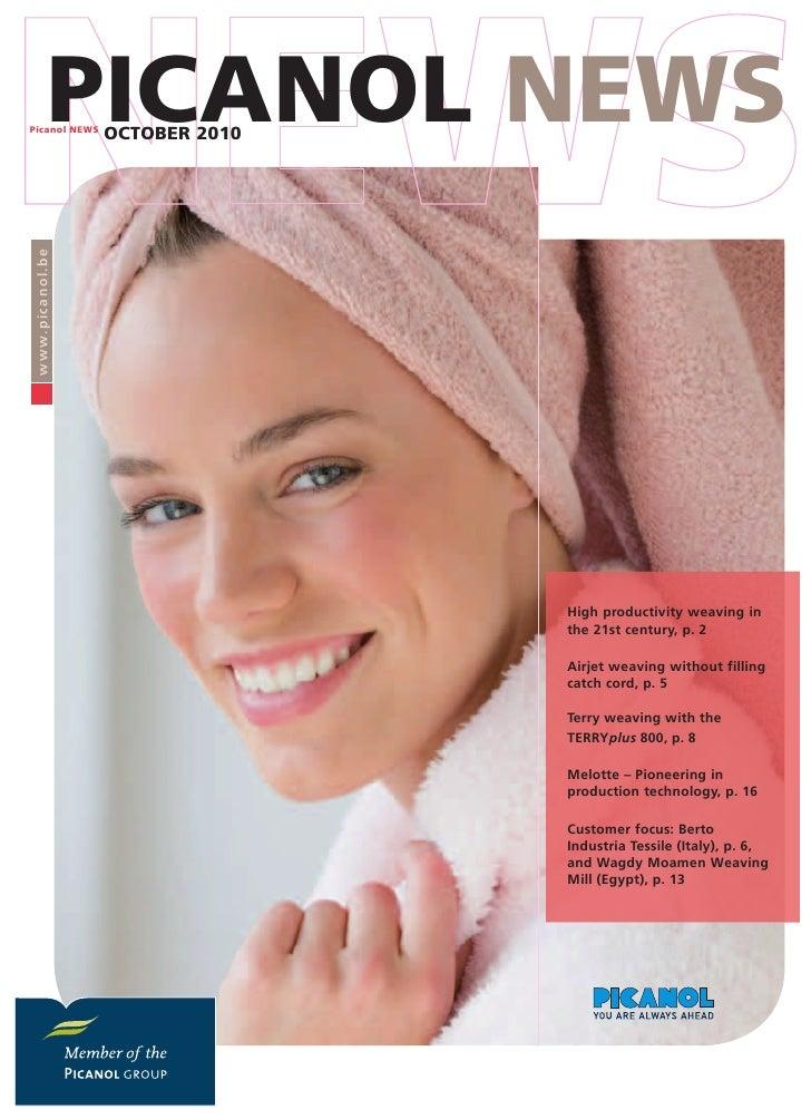 Picanol News October 2010