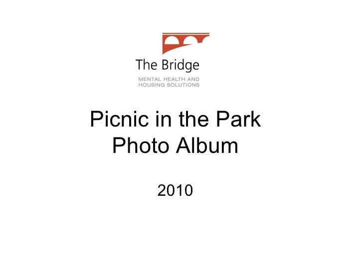 Picnic in the Park Photo Album 2010