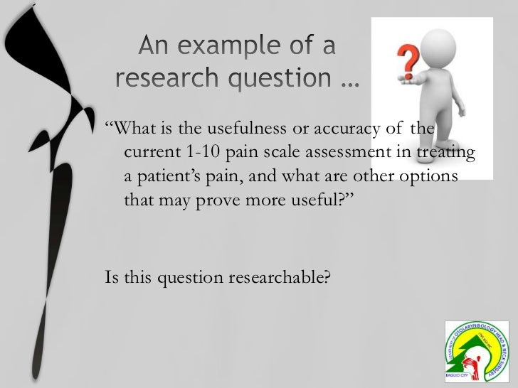 Picot research question