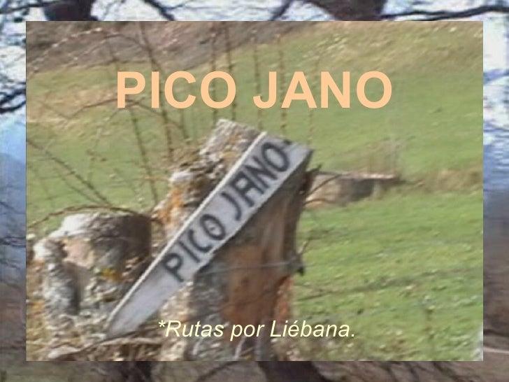 PICO JANO *Rutas por Liébana.