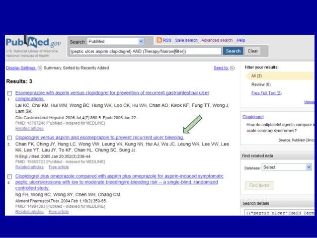 N Engl J Med 2005 ; 352 : 238 – 44. Clopidogrel vs aspirin & esomeprazole Difference 7.9 % points 95 % CI: 3.4 – 12.4 P = ...
