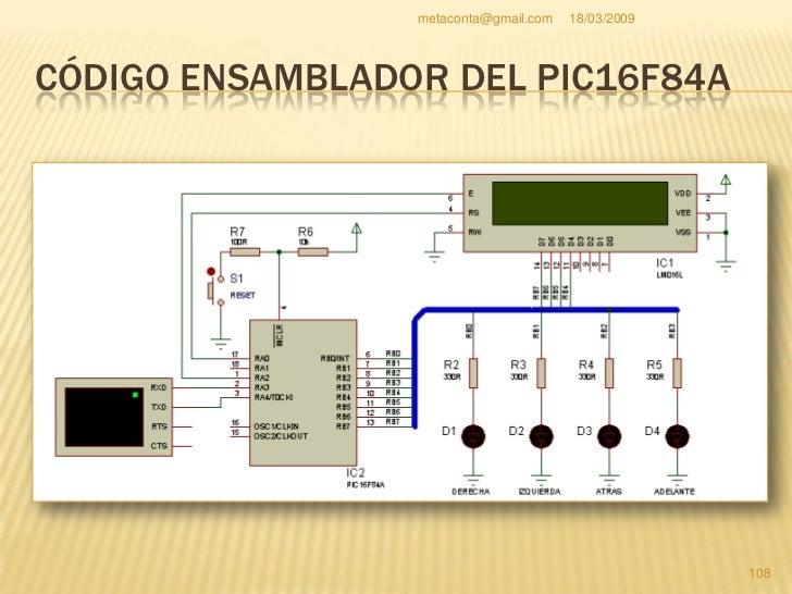 metaconta@gmail.com   18/03/2009     LISTA DE COMPONENTES  Componentes      Valor          C8                        22pF ...