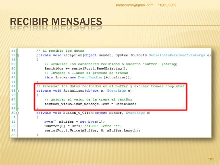 metaconta@gmail.com   18/03/2009   hh:mm:ss Representa hh a horas, mm a    Vamos a poner la hora minutos y ss a segundos....