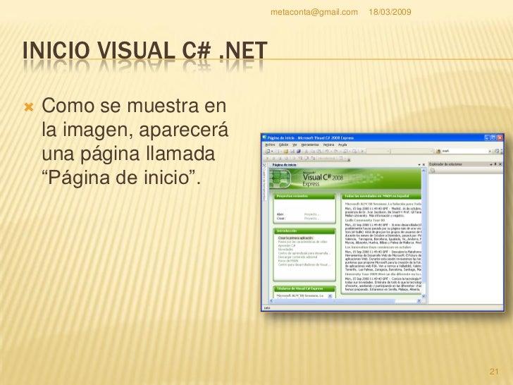 """metaconta@gmail.com   18/03/2009     CREAR NUEVO PROYECTO Creamos un nuevo proyecto en """"ArchivoNuevaProyecto…"""". Antes de..."""