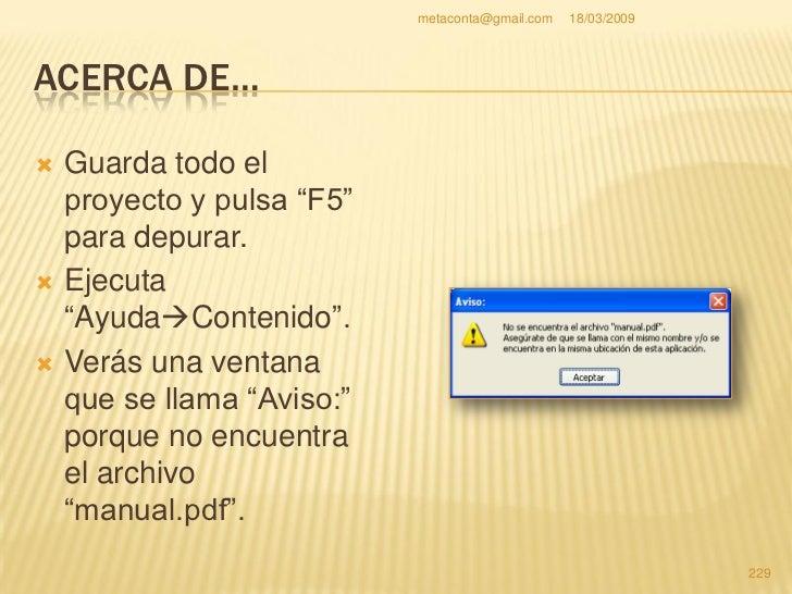 metaconta@gmail.com   18/03/2009     ACERCA DE…                                                     230