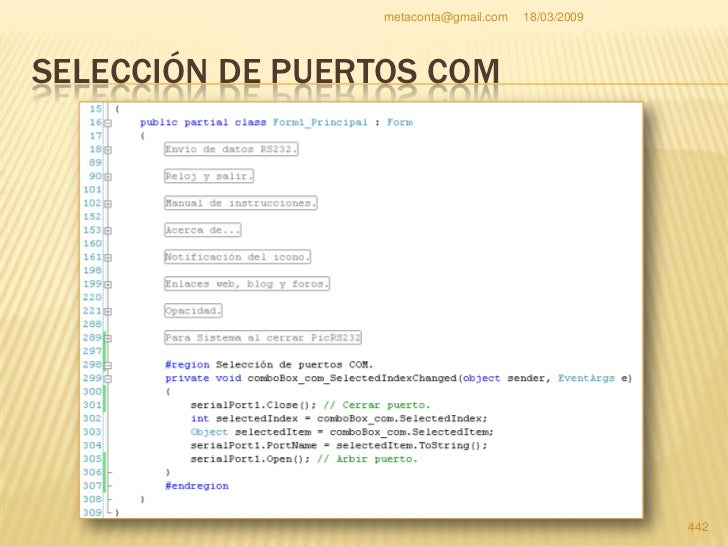 Pic Rs232 puerto serie con PIC16F84A