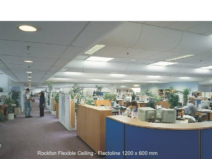 Rockfon Flexible Ceiling - Flectoline 1200 x 600 mm
